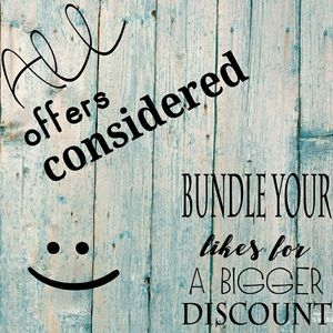 All offers considered! Bundle for discounts.